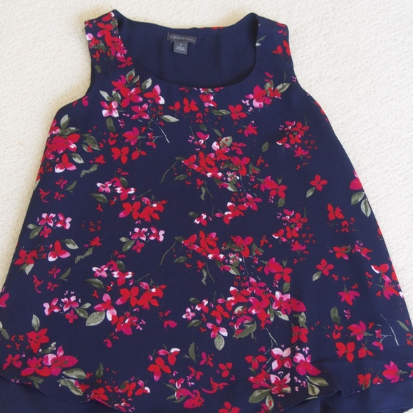 Tops - Floral Blouse (S)